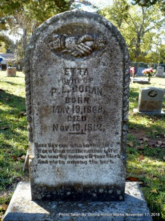 BOGAN, ETTA - Bienville County, Louisiana | ETTA BOGAN - Louisiana Gravestone Photos