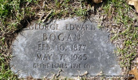 BOGAN, GEORGE EDWARD - Bienville County, Louisiana | GEORGE EDWARD BOGAN - Louisiana Gravestone Photos