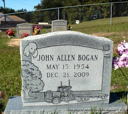BOGAN, JOHN ALLEN - Bienville County, Louisiana | JOHN ALLEN BOGAN - Louisiana Gravestone Photos