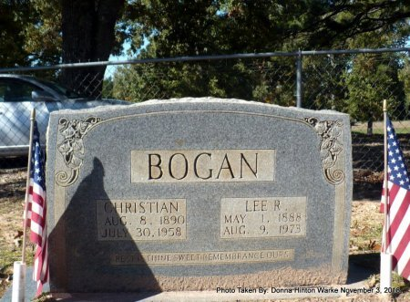 BOGAN, CHRISTIAN GIBSON - Bienville County, Louisiana   CHRISTIAN GIBSON BOGAN - Louisiana Gravestone Photos