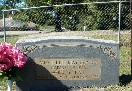 BOGAN, LILLIE MAY - Bienville County, Louisiana | LILLIE MAY BOGAN - Louisiana Gravestone Photos