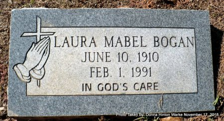 BOGAN, LAURA MABEL - Bienville County, Louisiana | LAURA MABEL BOGAN - Louisiana Gravestone Photos