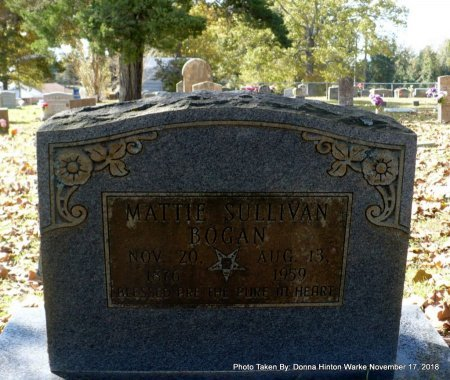 "BOGAN, MARTHA LEE ""MATTIE"" - Bienville County, Louisiana   MARTHA LEE ""MATTIE"" BOGAN - Louisiana Gravestone Photos"