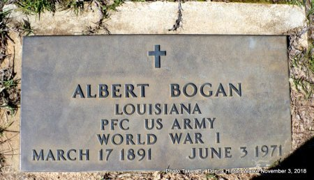 BOGAN  , ALBERT (VETERAN WWI) - Bienville County, Louisiana | ALBERT (VETERAN WWI) BOGAN   - Louisiana Gravestone Photos