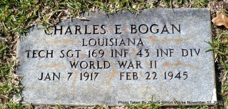 BOGAN  , CHARLES E (VETERAN WWII) - Bienville County, Louisiana | CHARLES E (VETERAN WWII) BOGAN   - Louisiana Gravestone Photos