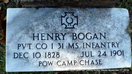 BOGAN  , HENRY (VETERAN CSA) - Bienville County, Louisiana | HENRY (VETERAN CSA) BOGAN   - Louisiana Gravestone Photos