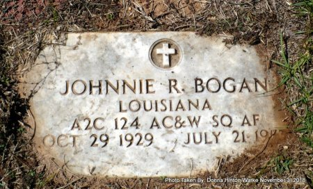BOGAN  , JOHNNIE RAY (VETERAN) - Bienville County, Louisiana | JOHNNIE RAY (VETERAN) BOGAN   - Louisiana Gravestone Photos