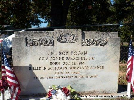 BOGAN   , ROY (VETERAN WWII. KIA) - Bienville County, Louisiana | ROY (VETERAN WWII. KIA) BOGAN    - Louisiana Gravestone Photos