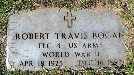 BOGAN  , ROBERT TRAVIS (VETERAN WWII) - Bienville County, Louisiana | ROBERT TRAVIS (VETERAN WWII) BOGAN   - Louisiana Gravestone Photos