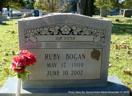 BOGAN, RUBY - Bienville County, Louisiana | RUBY BOGAN - Louisiana Gravestone Photos
