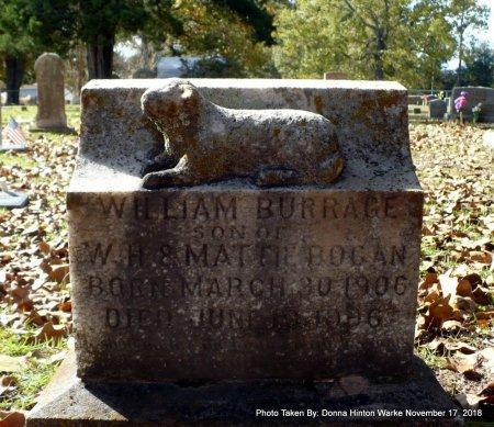 BOGAN, WILLIAM BURRAGE - Bienville County, Louisiana | WILLIAM BURRAGE BOGAN - Louisiana Gravestone Photos