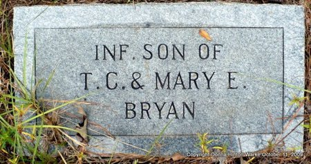 BRYAN, INFANT SON - Bienville County, Louisiana | INFANT SON BRYAN - Louisiana Gravestone Photos