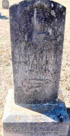 BRYAN, INFANT - Bienville County, Louisiana   INFANT BRYAN - Louisiana Gravestone Photos