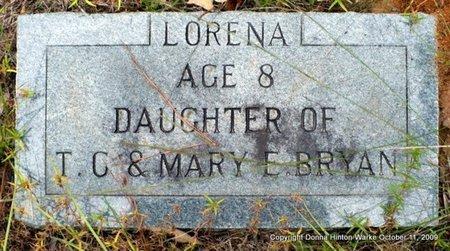 BRYAN, LORENA - Bienville County, Louisiana | LORENA BRYAN - Louisiana Gravestone Photos