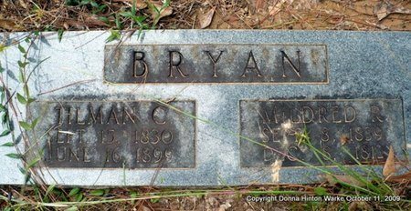 MANNING BRYAN, MARY MILDRED REBECCA - Bienville County, Louisiana | MARY MILDRED REBECCA MANNING BRYAN - Louisiana Gravestone Photos