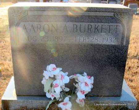 BURKETT, AARON A - Bienville County, Louisiana | AARON A BURKETT - Louisiana Gravestone Photos