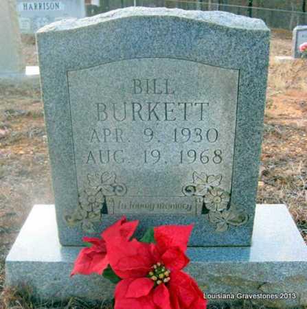 BURKETT, BILL - Bienville County, Louisiana   BILL BURKETT - Louisiana Gravestone Photos