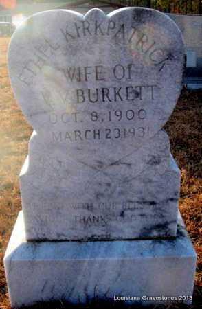 BURKETT, ETHEL - Bienville County, Louisiana | ETHEL BURKETT - Louisiana Gravestone Photos