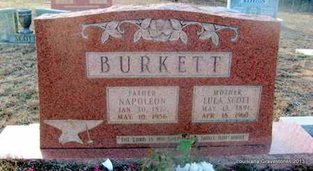 BURKETT, NAPOLEON - Bienville County, Louisiana | NAPOLEON BURKETT - Louisiana Gravestone Photos
