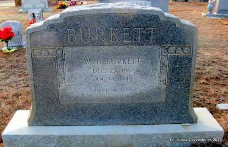 BURKETT, WILLIAM F - Bienville County, Louisiana | WILLIAM F BURKETT - Louisiana Gravestone Photos
