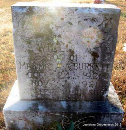 BURKETT, WILLIS A - Bienville County, Louisiana | WILLIS A BURKETT - Louisiana Gravestone Photos