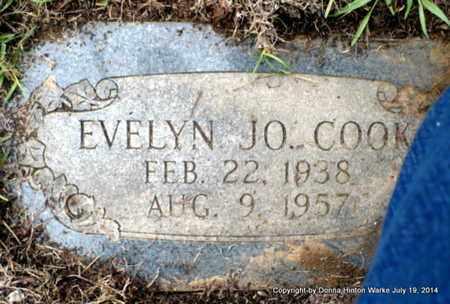 COOK, EVELYN JO - Bienville County, Louisiana | EVELYN JO COOK - Louisiana Gravestone Photos