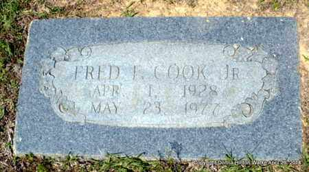 COOK, FRED F, JR - Bienville County, Louisiana | FRED F, JR COOK - Louisiana Gravestone Photos