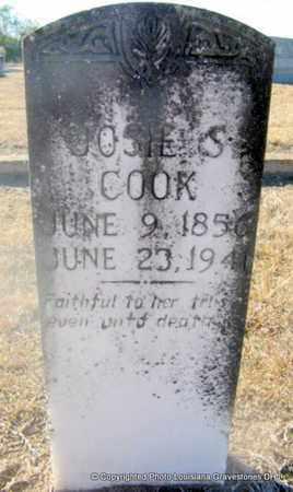 COOK, JOSIE S - Bienville County, Louisiana | JOSIE S COOK - Louisiana Gravestone Photos