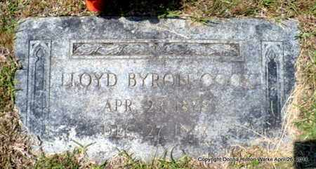 COOK, LLOYD BRYON - Bienville County, Louisiana | LLOYD BRYON COOK - Louisiana Gravestone Photos