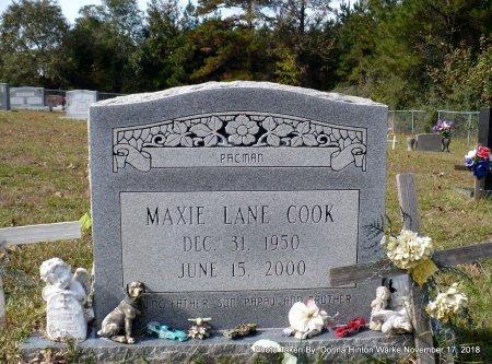 COOK, MAXIE LANE - Bienville County, Louisiana | MAXIE LANE COOK - Louisiana Gravestone Photos