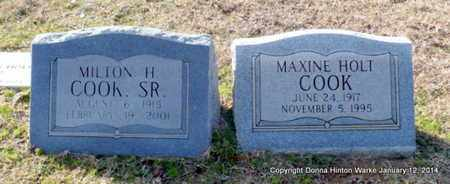 COOK, MAXINE - Bienville County, Louisiana | MAXINE COOK - Louisiana Gravestone Photos