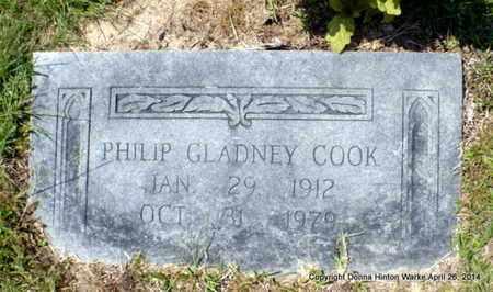 COOK, PHILIP GLADNEY - Bienville County, Louisiana | PHILIP GLADNEY COOK - Louisiana Gravestone Photos