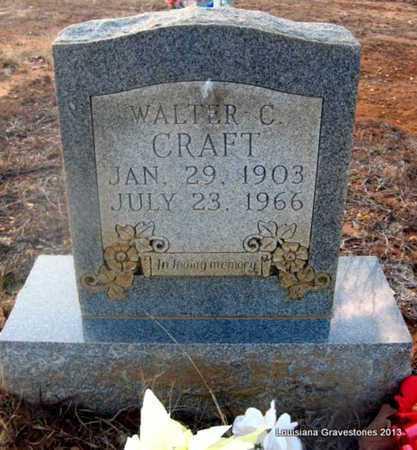 CRAFT, WALTER C - Bienville County, Louisiana | WALTER C CRAFT - Louisiana Gravestone Photos