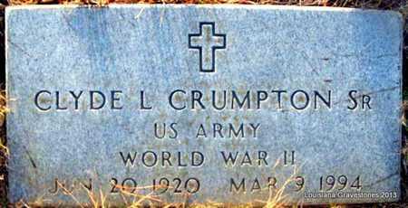 CRUMPTON, CLYDE L, SR (VETERAN WWII) - Bienville County, Louisiana | CLYDE L, SR (VETERAN WWII) CRUMPTON - Louisiana Gravestone Photos