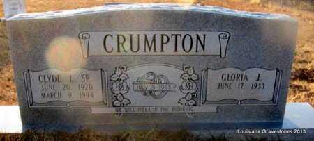 CRUMPTON, CLYDE L, SR - Bienville County, Louisiana   CLYDE L, SR CRUMPTON - Louisiana Gravestone Photos