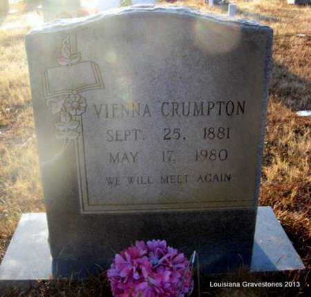 MORROW CRUMPTON, VIENNA - Bienville County, Louisiana | VIENNA MORROW CRUMPTON - Louisiana Gravestone Photos
