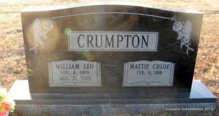 CRUMPTON, WILLIAM LEO - Bienville County, Louisiana   WILLIAM LEO CRUMPTON - Louisiana Gravestone Photos