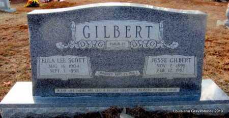 SCOTT GILBERT, EULA LEE - Bienville County, Louisiana | EULA LEE SCOTT GILBERT - Louisiana Gravestone Photos