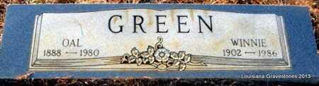 GREEN, OAL - Bienville County, Louisiana | OAL GREEN - Louisiana Gravestone Photos