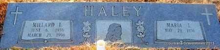 HALEY, MILLARD LEROY - Bienville County, Louisiana | MILLARD LEROY HALEY - Louisiana Gravestone Photos
