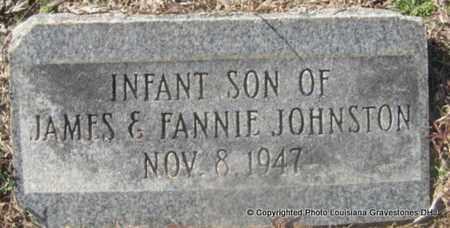 JOHNSTON, INFANT SON - Bienville County, Louisiana   INFANT SON JOHNSTON - Louisiana Gravestone Photos