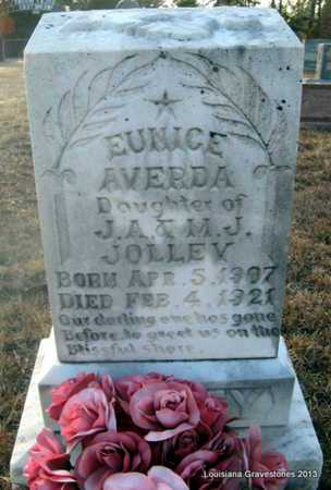 JOLLEY, EUNICE AVERDA - Bienville County, Louisiana | EUNICE AVERDA JOLLEY - Louisiana Gravestone Photos