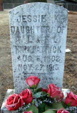 KIRKPATRICK, JESSIE K - Bienville County, Louisiana | JESSIE K KIRKPATRICK - Louisiana Gravestone Photos