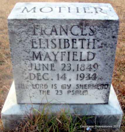 KIRKPATRICK MAYFIELD, FRANCES ELISIBETH - Bienville County, Louisiana | FRANCES ELISIBETH KIRKPATRICK MAYFIELD - Louisiana Gravestone Photos