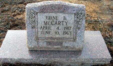 MCCARTY, ERINE B - Bienville County, Louisiana | ERINE B MCCARTY - Louisiana Gravestone Photos