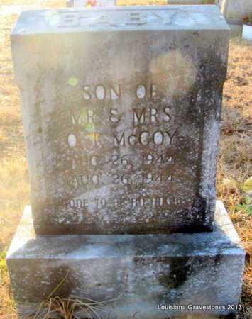 MCCOY, BABY SON - Bienville County, Louisiana | BABY SON MCCOY - Louisiana Gravestone Photos