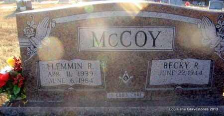 MCCOY, FLEMMIN RICHARD - Bienville County, Louisiana | FLEMMIN RICHARD MCCOY - Louisiana Gravestone Photos