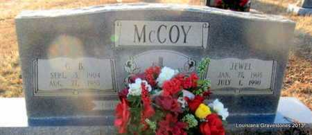 LEE MCCOY, JEWEL E - Bienville County, Louisiana | JEWEL E LEE MCCOY - Louisiana Gravestone Photos