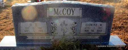 MCCOY, DONNIE ELOWINE W - Bienville County, Louisiana | DONNIE ELOWINE W MCCOY - Louisiana Gravestone Photos