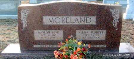 MORELAND, MARLON MIKE - Bienville County, Louisiana | MARLON MIKE MORELAND - Louisiana Gravestone Photos